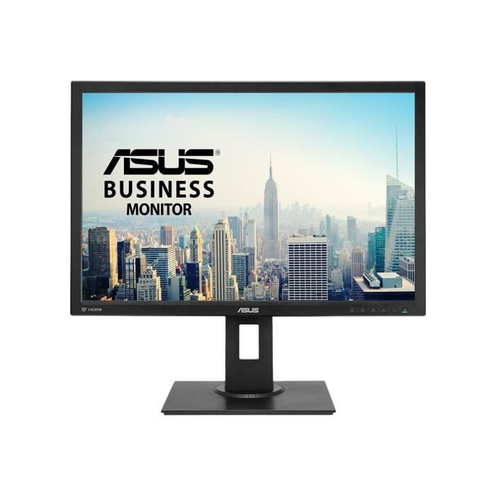 ASUS BE24AQLBH Écran LED 24.1- 1920 x 1200 IPS 300 cd-m² 1000:1 5 ms HDMI, DVI-D, VGA, DisplayPort haut-parleurs noir
