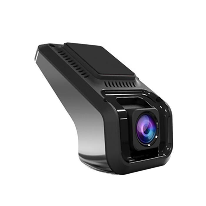 Enregistreur de voiture USB DVR caméra HD 1080P version mate nuit version 170 grand angle