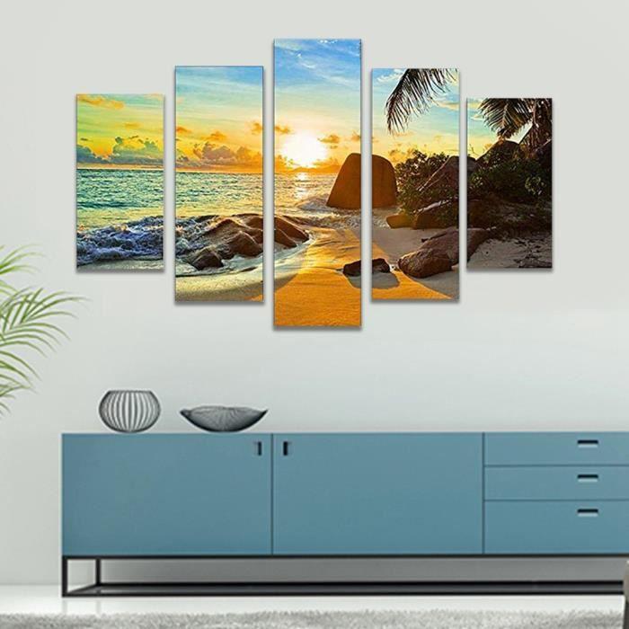 Art moderne sans cadre peinture à l'huile impression toile photo maison mur décoration de la chambre_zz21161