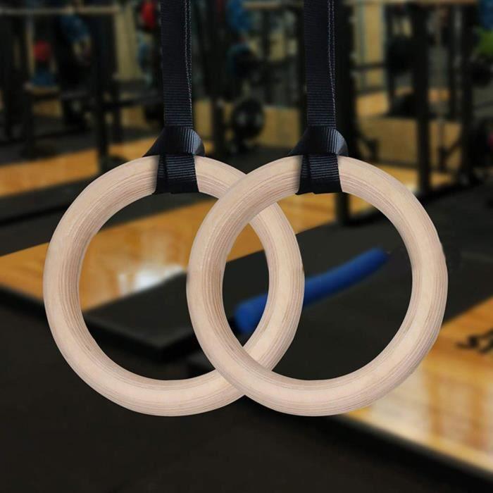 VICICA Anneaux de fitness anneaux de gymnastique sangle de suspension de musculation