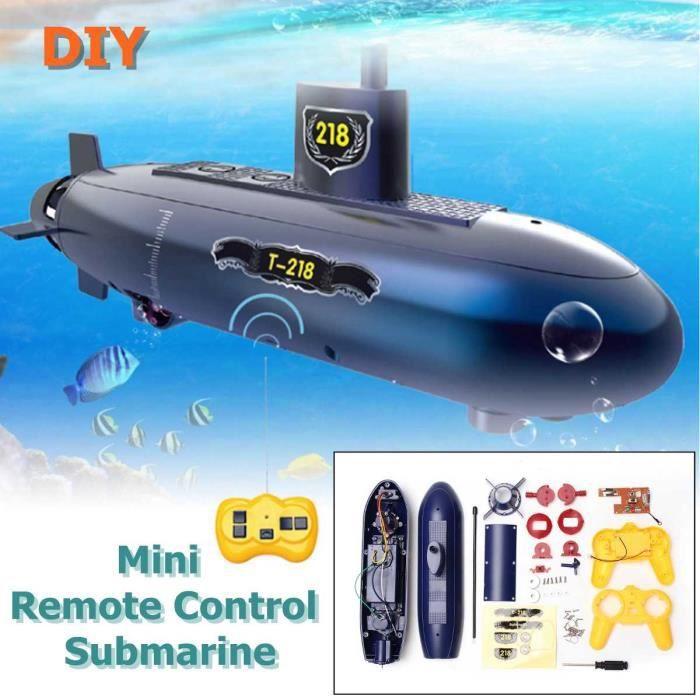 Drôle RC Mini sous-marin 6 canaux télécommande sous l'eau bateau RC bateau modèle enfants jouet cadeau pour les enfants