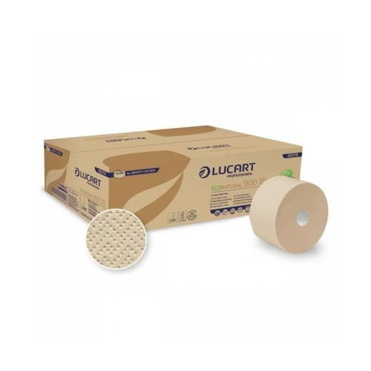 LUCART- ECO NATURAL 90ID - 12 rouleaux