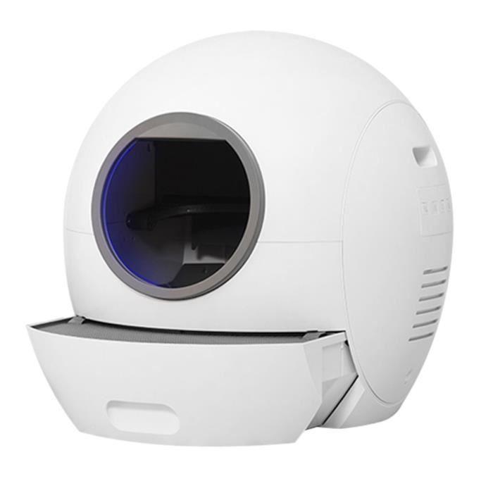 ELS PET Intelligent Chat Litière Boîte 5L Automatique Chat Toilette Poubelle Pour Animaux De Compagnie Toilette Auto-nettoyante