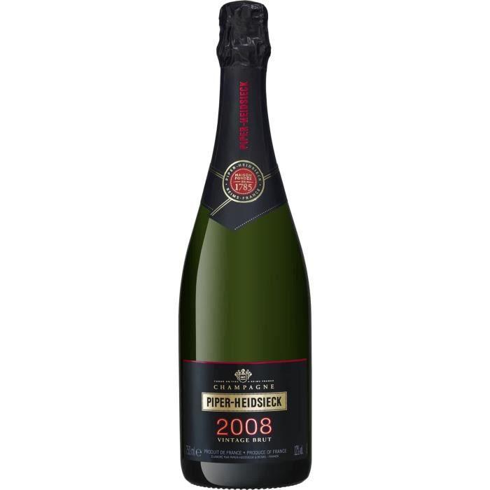 Champagne Piper Heidsieck Vintage Millésimé 2006 avec étui - 75 cl