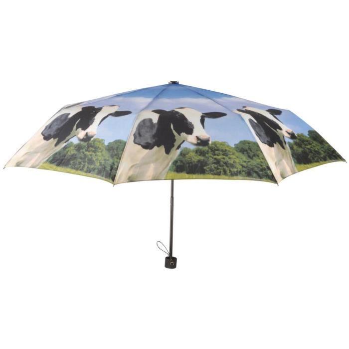 Parapluie pliable design vache Esschert Design TP157