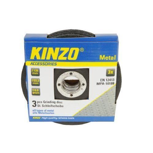 KINZO Disque de meulage métal - 125mm