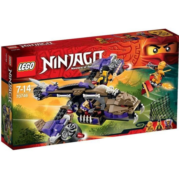 LEGO® Ninjago 70746 L'Hélicoptère de Condrai