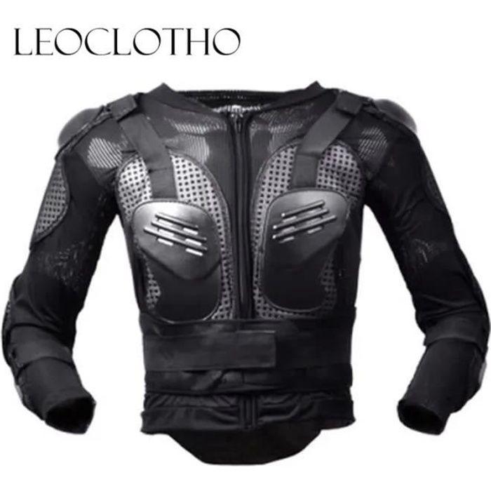 LEOCLOTHO-Veste Armure Moto Blouson Motard Gilet Protection Complète du Corps Cross Scooter VTT Enduro Homme ou Femme