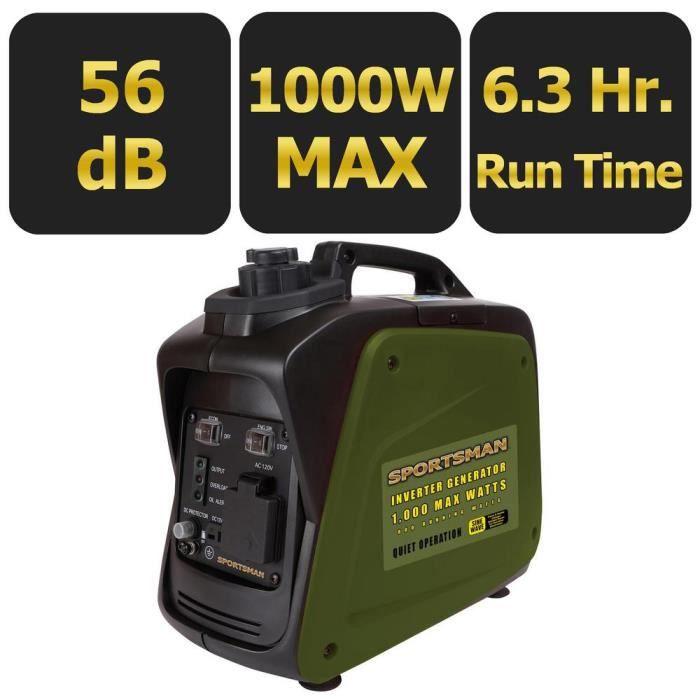 Vtc 1000 Watt Inverter Generator - CARB Approved B87P0 Taille-M