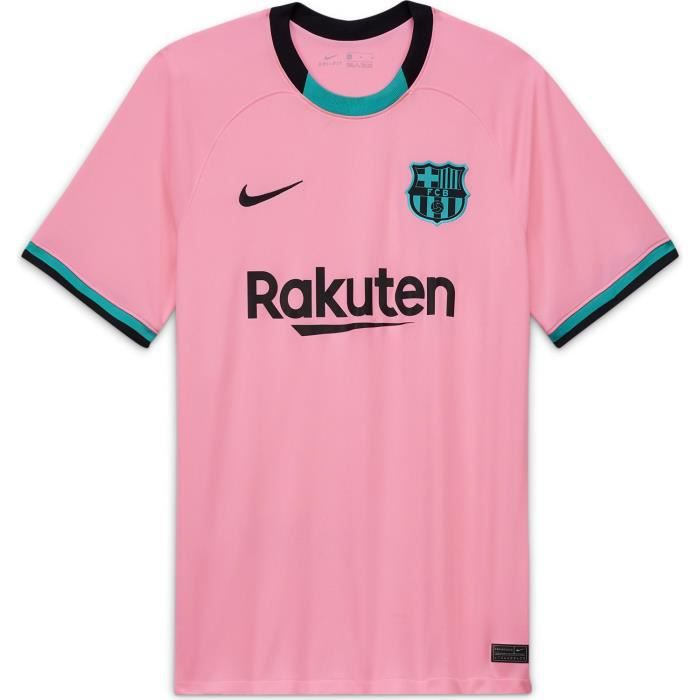 Maillot Nike Barcelone Third 2020-21 rose homme