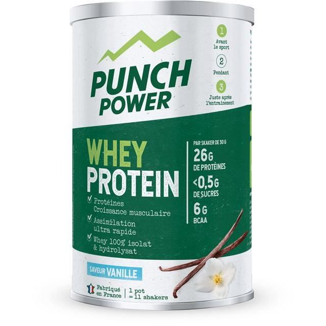 PUNCH POWER Whey Protein Vanille - Pot 350 g