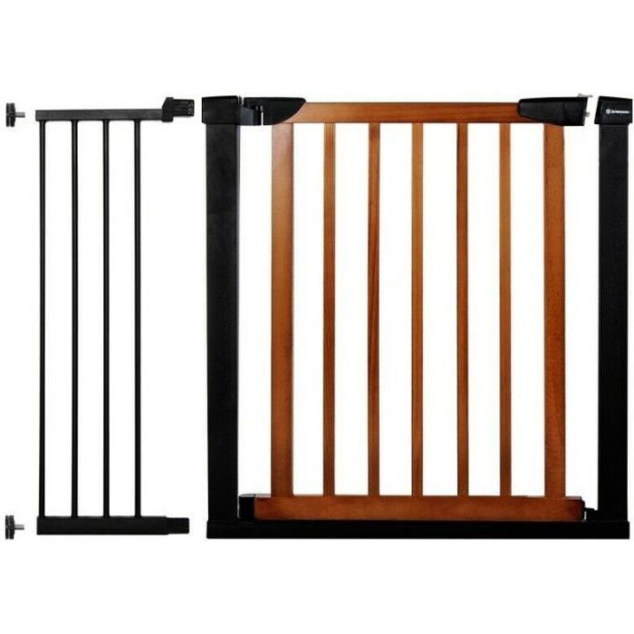 SPRINGOS® Barrière de Sécurité Bébé, Enfant pour Escaliers, Portes 75-110 cm