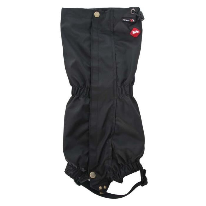 Accessoires Trespass Mallaig Classic Gaiters - Taille : One Size - Couleur marketing : Black