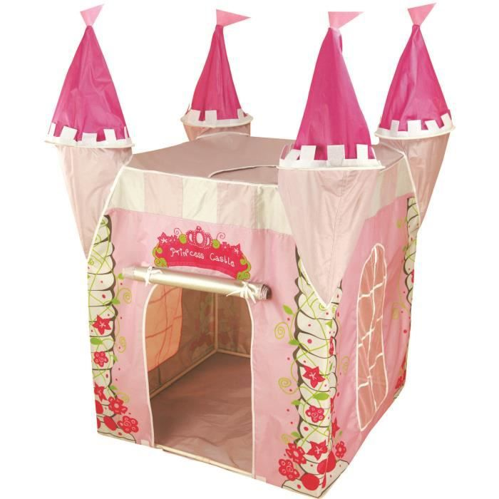 enfants princesse tente de jeux pop up chateau achat vente tente tunnel d 39 activit cdiscount. Black Bedroom Furniture Sets. Home Design Ideas