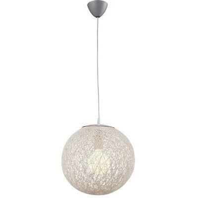 Suspension fibre naturelle blanche ballina 1x 60w boutica design achat - Suspension fibre naturelle ...