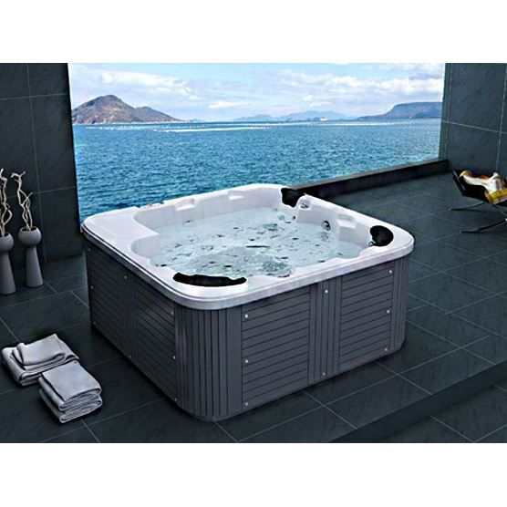 jacuzzi d 39 ext rieur spa 6 places acrylique haute. Black Bedroom Furniture Sets. Home Design Ideas
