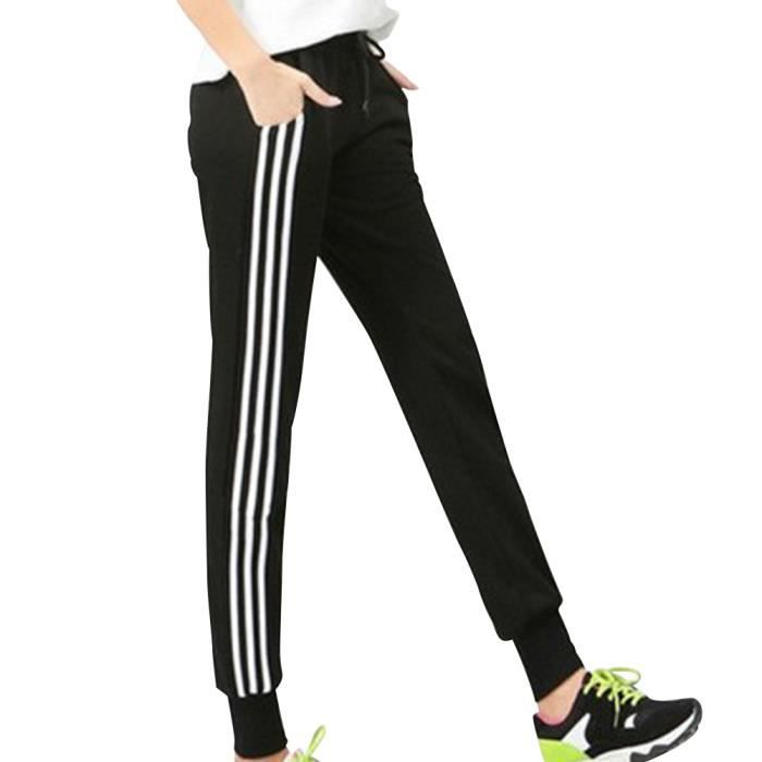 e1fd396a691 Femme Survêtement Pantalon Vêtement Sport Gym Jogging Legging Slim Fitness  Mode