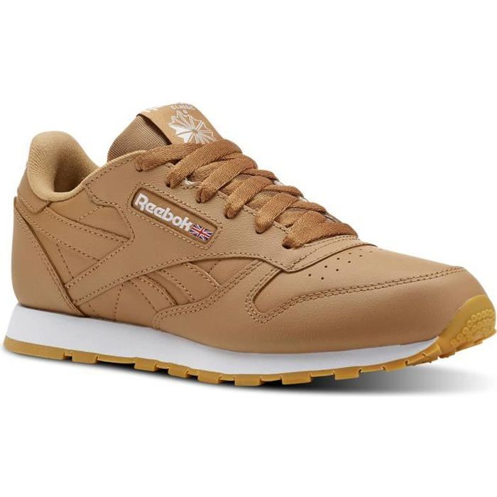 Beige Reebok Camel Mode Baskets Leather Achat Junior Classic qXTnXgZ