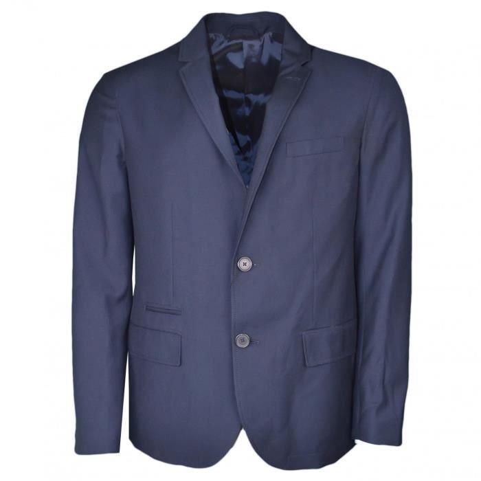 VESTE Blazer Armani Exchange bleu marine pour homme - Co