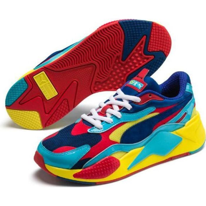 Chaussures de running Puma Rs-X³ plastic - Cdiscount Sport