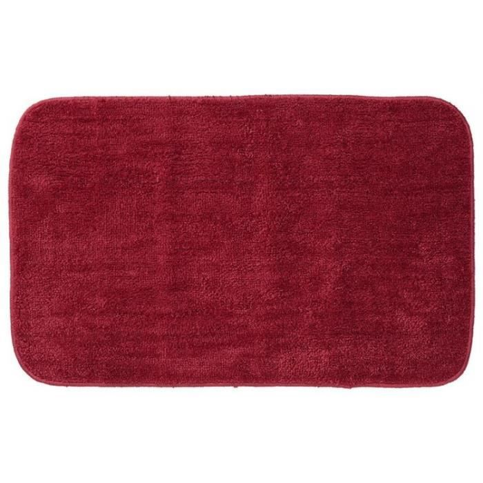 tapis de bain sealskin doux rouge achat vente tapis de bain cdiscount. Black Bedroom Furniture Sets. Home Design Ideas