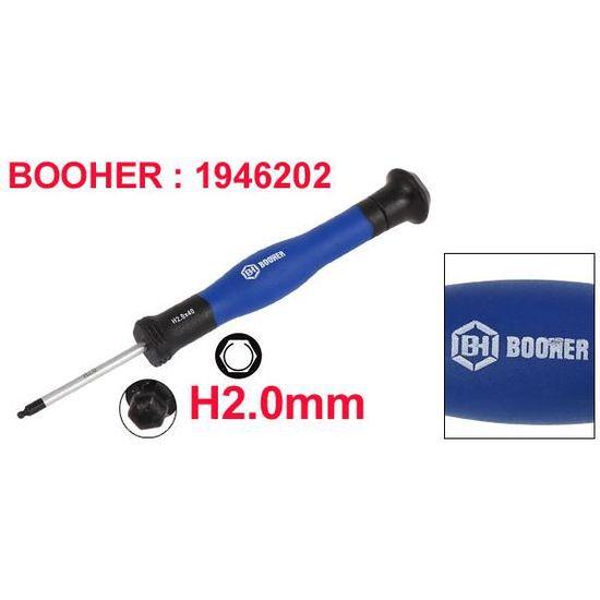 BOOHER autorisé Barres 75 mm longueur T8 Torx Tournevis Réparation Outil