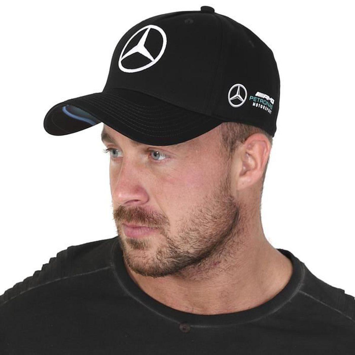 CASQUETTE Mercedes AMG ® F1 Team Casquette Mercedes AMG Noir