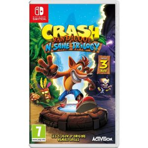 JEU NINTENDO SWITCH Crash Bandicoot N. Sane Trilogy Jeu Switch