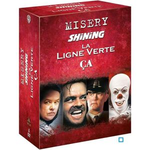 DVD FILM DVD Coffret Stephen King : Misery + Shining + Les