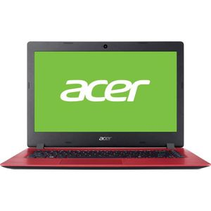 ORDINATEUR PORTABLE Portable ACER Aspire A114-31-C2ZU Rouge