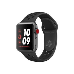 MONTRE CONNECTÉE APPLE Apple Watch Series 3 Nike+ Smartwatch - Poig