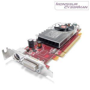 CARTE GRAPHIQUE INTERNE Carte Graphique ATI Radeon HD 2400 XT 256MB PCI-E