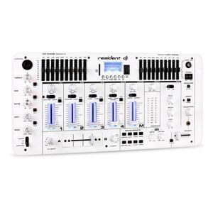 TABLE DE MIXAGE resident DJ Kemistry 3 WH Table mixage 4 pistes