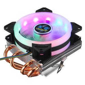 VENTILATION  Ventilateur Refroidisseur de Processeur RGB LED 4