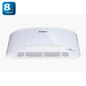 SWITCH - HUB ETHERNET  D-Link DGS-1008D - Switch Gigabit 8 ports
