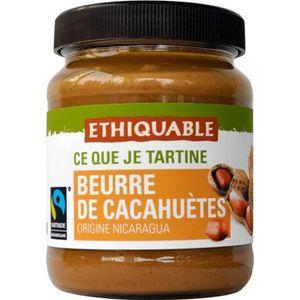 PÂTE À TARTINER Ethiquable beurre de cacahuètes du Nicaragua 350g