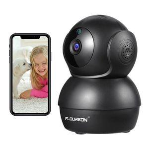 CAMÉRA DE SURVEILLANCE Caméra de Sécurité FLOUREON 720P Wifi 1.0 Megapixe