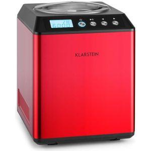 SORBETIÈRE Klarstein Vanilla Sky - Machine à crème glacée à c