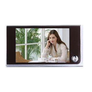 JUDAS - ŒIL DE PORTE 3.5 pouces LCD Digital Judas de porte Viewer 120 °
