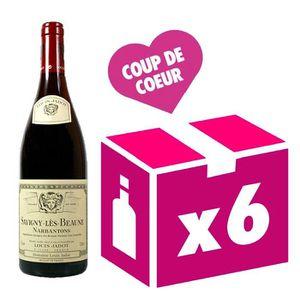 VIN ROUGE Savigny les Beaune 1er Cru Narbantons vin rouge 6x