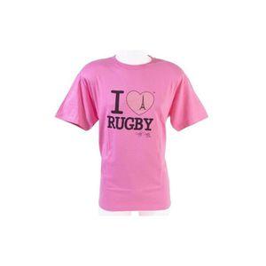MAILLOT DE RUGBY Tee-shirt - I love rugby Paris - Ultra Petita