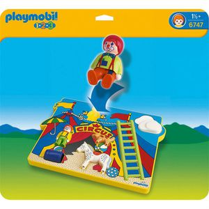 UNIVERS MINIATURE PLAYMOBIL 1.2.3. Puzzle Cirque