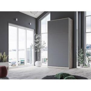 LIT ESCAMOTABLE SMARTBett Standard 90x200 vertical  chêne Sonoma/a