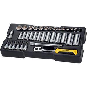 Acier Standard Douille pour clé 3//8 pouces lecteur 8mm-19mm réparation accessoires outil