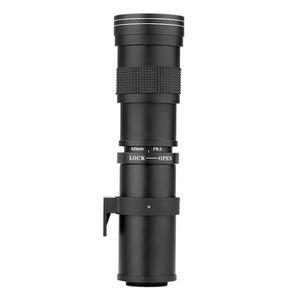OBJECTIF Andoer 420-800mm F / 8,3 -16 Ultra HD Téléobjectif