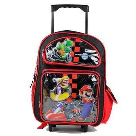 Cartable a roulettes trolley super mario kart 7 unified gaming casino