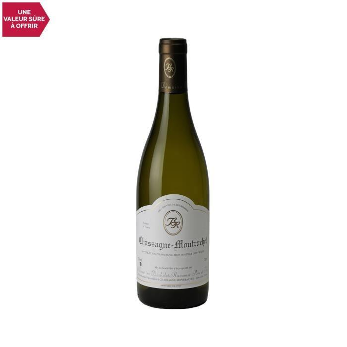 Chassagne-Montrachet Blanc 2019 - 75cl - Domaine Bachelet-Ramonet - Vin AOC Blanc de Bourgogne - Cépage Chardonnay