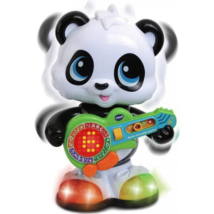 Vtech - Mambo, Mon Panda Musicien, Animal Musical, Jouet Bébé - Jouet 12-36 Mois - Version Fr