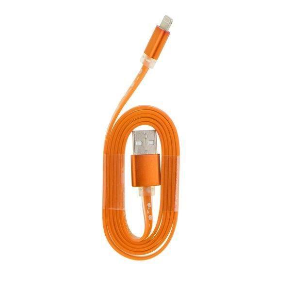 Mgs33 Cable Usb Type Nylon Orange compatible Iphone I5 / S / C / 6 / Ipad
