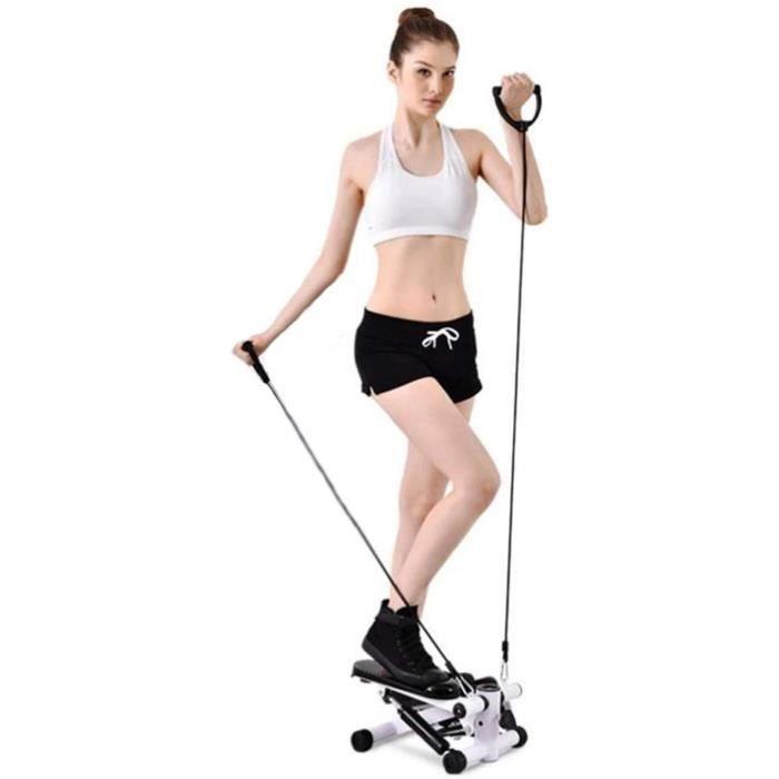 Stepper Fitness Mini Stepper Twist Stepper Mini Step Gym Machines d'exercice des Jambes Cuisse Tonique entraicircnement Fitness sim